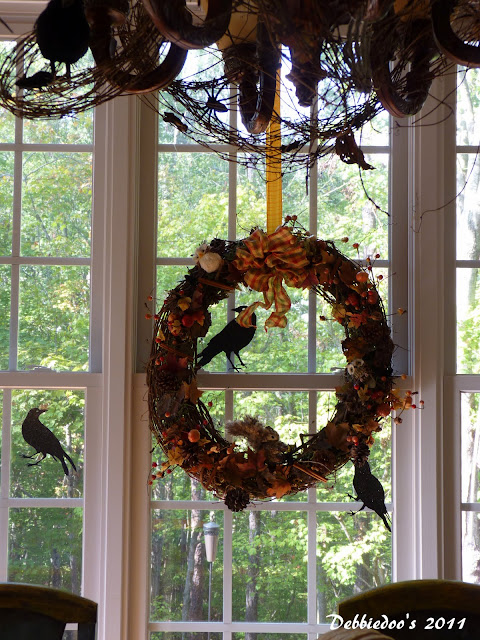 Kitchen Fall wreath