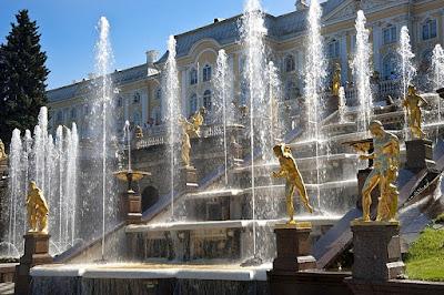 Peterhof Fountain, St. Petersbug, Rusia