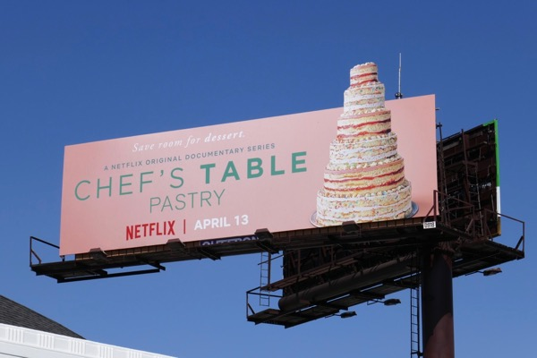 Chefs Table Pastry billboard