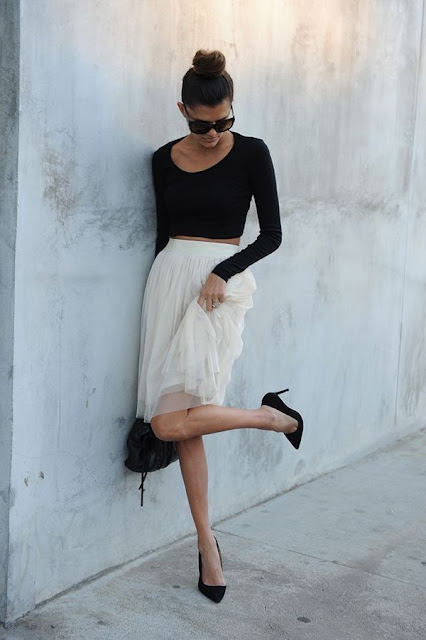 Tulle Skirt by Carly of Bun Bun Book via Lauren Conrad {Cool Chic Style Fashion}