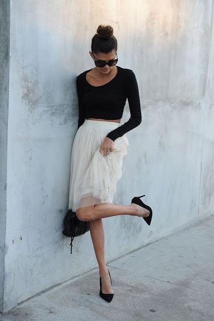 Tulle Skirt by Carly of Bun Bun Book via Lauren Conrad {Cool Chic Style Fashion}