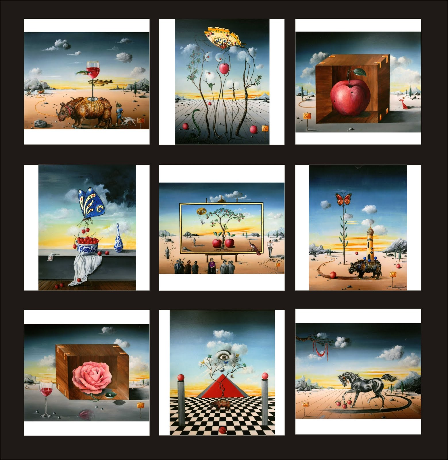 Salvador Dali Signed Prints