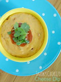 smoky chorizo cheese dip (sweetandsavoryfood.com)