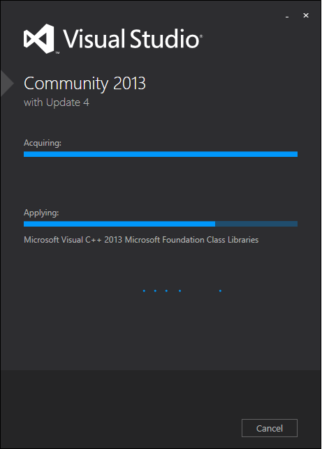 Instalasi Visual Studio Community 2013