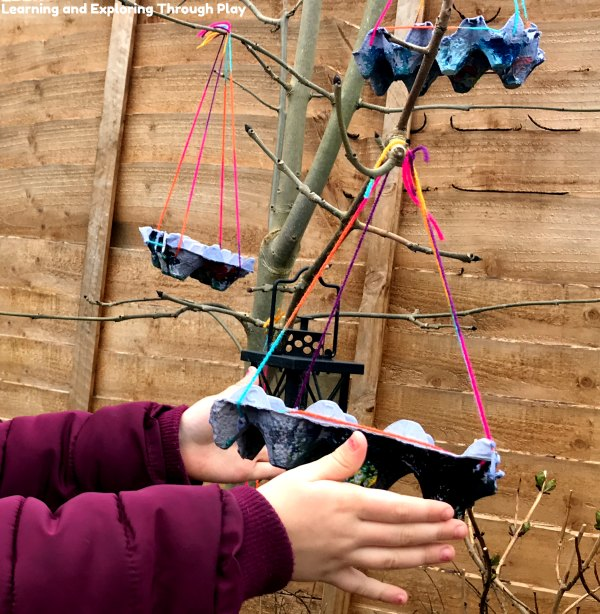 Egg Carton Bird Feeder - Forest School Ideas