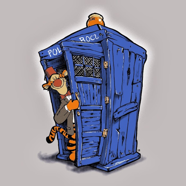 Doctor Who Wallpaper: Ten and TARDIS by U-No-Poo on DeviantArt  |Doctor Who Art Poo