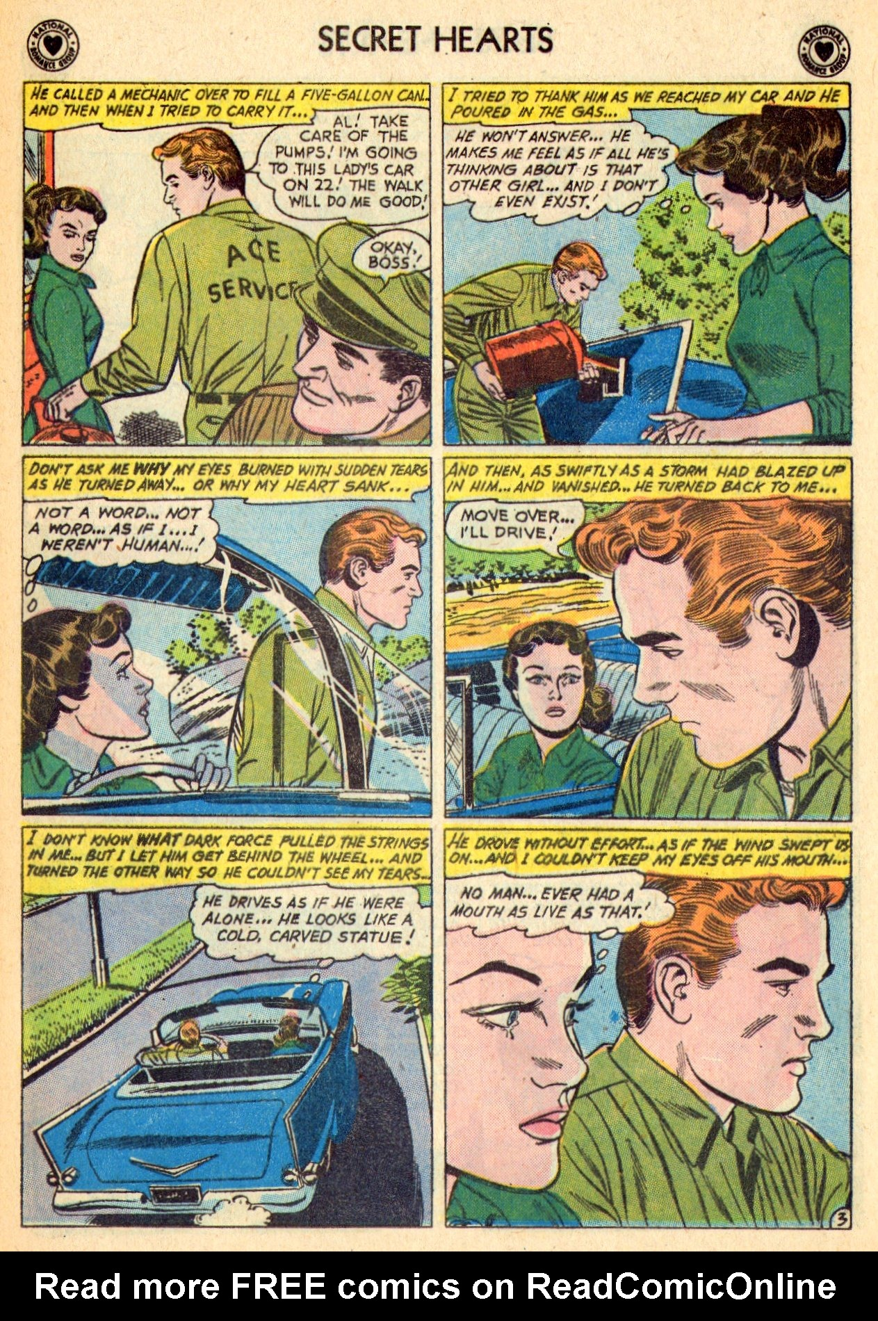Read online Secret Hearts comic -  Issue #70 - 29