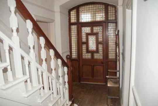 victorian glazed door