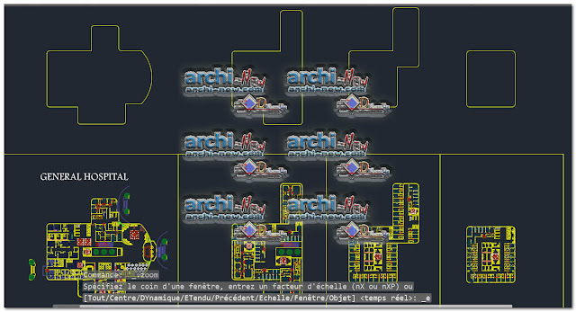 Designs Hospitals freecad Dwg