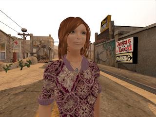 Raspberry stands in deserted desert town