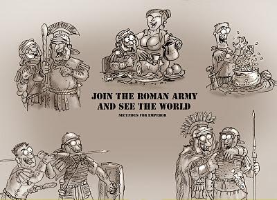 Meme de humor sobre la Antigua Roma