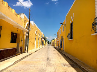 Izamal, village jaune, Yucatan, Mexique