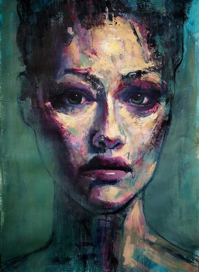 Французский художник. Francois Cognet
