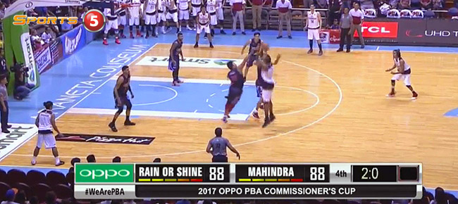 Rain or Shine def. Mahindra, 99-95 in OT (REPLAY VIDEO) March 19
