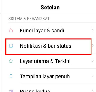 Menyembunyikan Notifikasi WhatsApp di Lock Screen