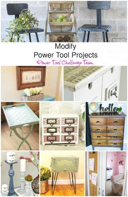 Modify power tool projects, Mylove2create