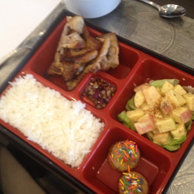 Chomp Chops pork chop zinggara at Cafe Breeze