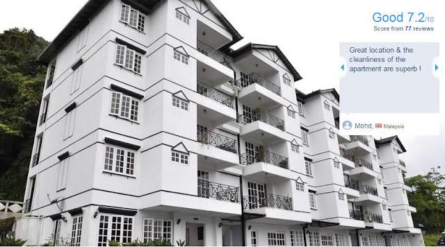 Parkland Apartment Brinchang