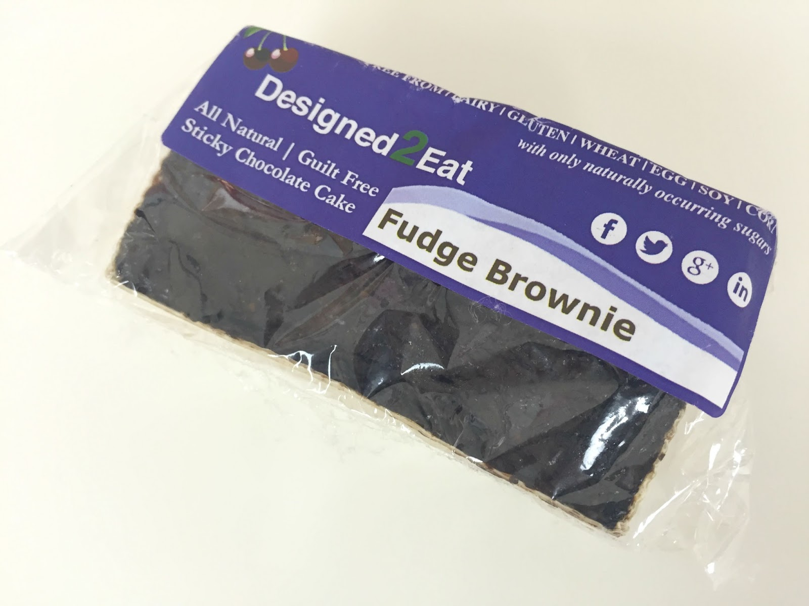 Designed2Eat Fudge Brownie