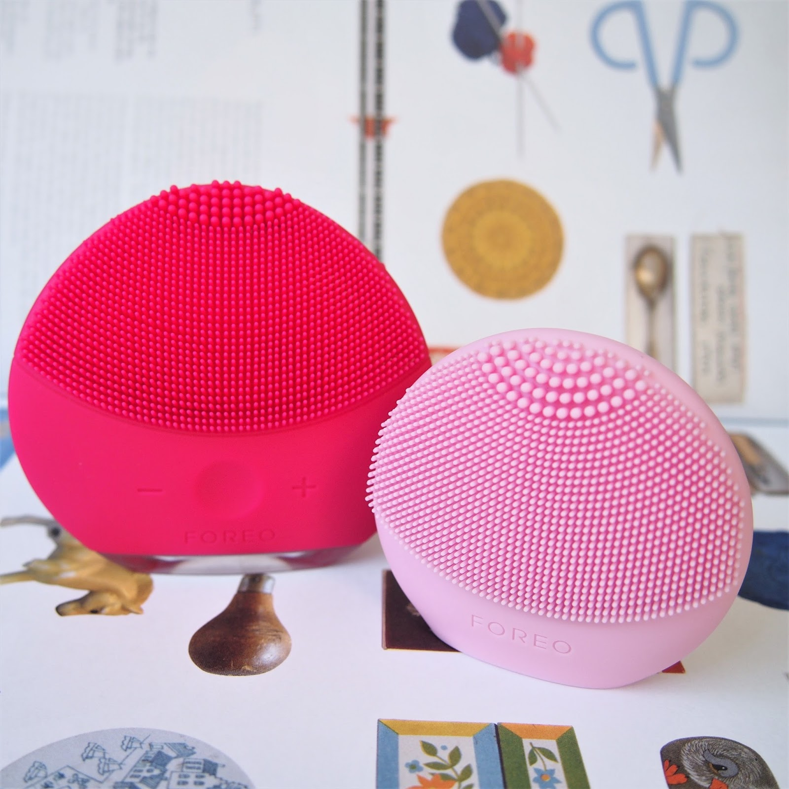 Product Comparison: FOREO LUNA play vs. FOREO LUNA play plus