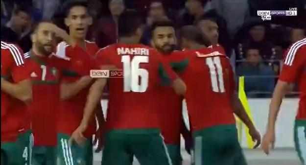 ملخص واهداف فوز المغرب على غينيا بثلاثية مقابل هدف فى  بطولة أفريقيا للاعبين المحليين الاربعاء 17-01-2018