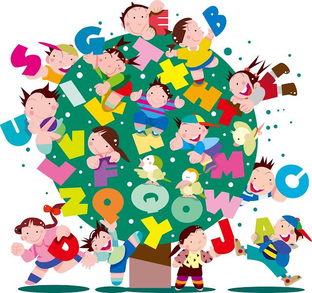 イラスト制作、イラストレーター、子供英会話、アルファベット、キッズイラスト