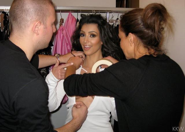 Truque da Kim Kardashian