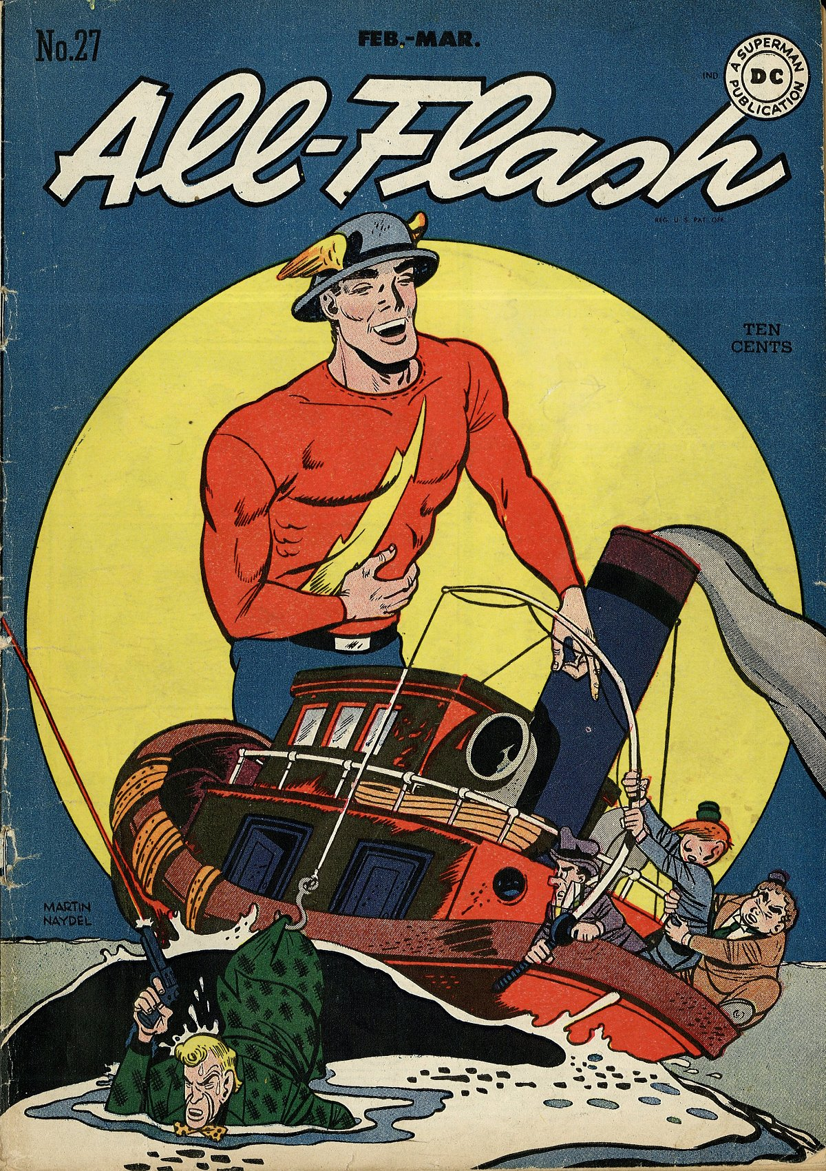 Read online All-Flash comic -  Issue #27 - 1