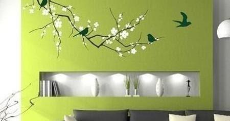 Hiasan Dinding Ruang Tamu Modern Rancangan Desain Rumah Minimalis