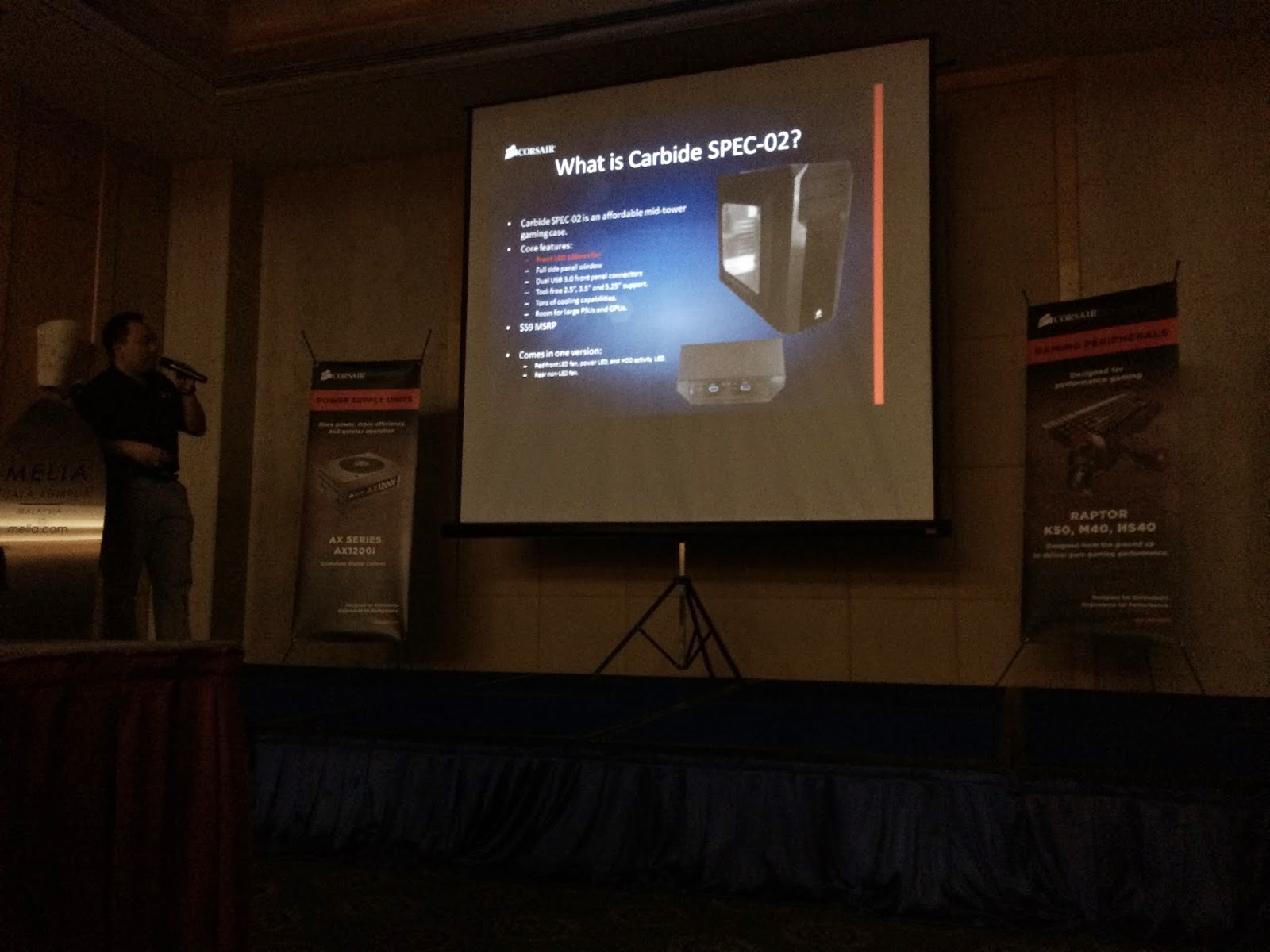 Coverage of Corsair Event @Melia Kuala Lumpur 24