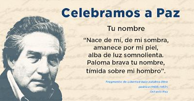 """Conferencia """"Octavio Paz, el hombre en su siglo"""""""