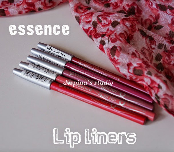 essence lip liner swatches