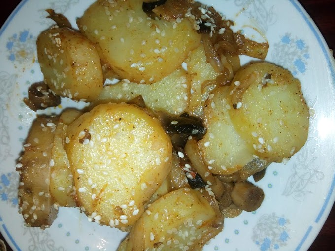 Krompir sa sampinjonima