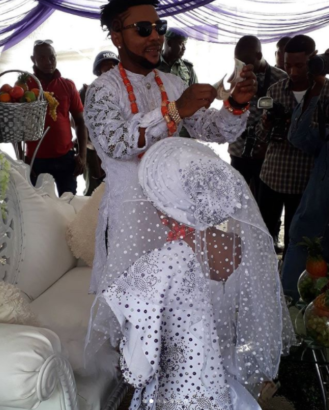 More stunning photos from Oritsefemi and Nabila Fash's wedding