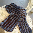 For the Love of the V-Stitch Scarf