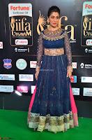 Raai Laxmi in Beautiful Backless Designer Anarkali Gown at IIFA Utsavam Awards 2017  Day 2  Exclusive 04.JPG