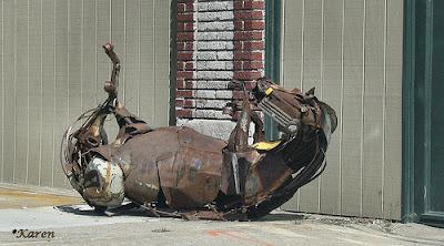 escultura de caballo