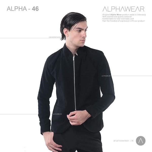 alphawear the zipper jacket blazer