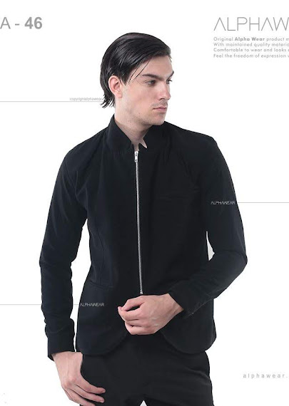 alphawear the zipper jacket blazer