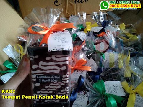 Harga Tempat Pensil Kotak Batik