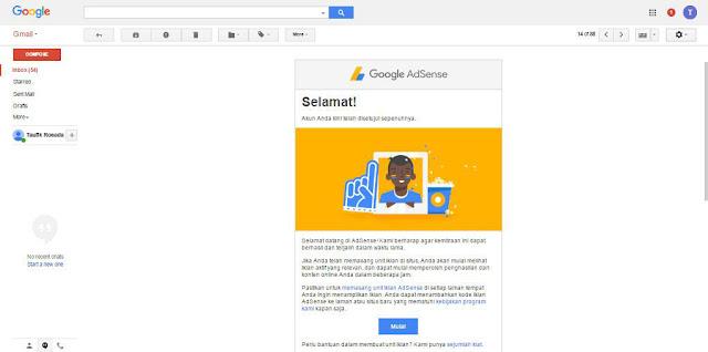 Cara Saya Mendaftar Google AdSense dan Cepat Diterima Approve
