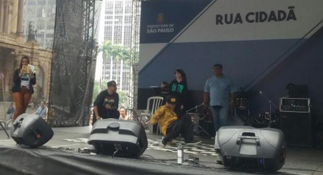 Crianças do litoral foram destaque na Virada Sustentável 2018 em São Paulo.