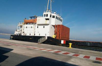 السفينة التركية المضبوطة بالمتفجرات