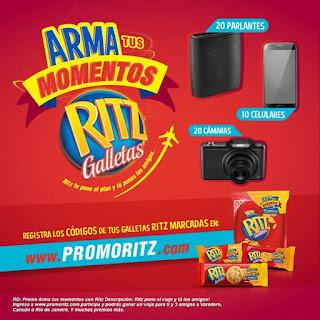 Promo RITZ - Gana un viaje a Cancún, Varadero o Rio de Janeiro