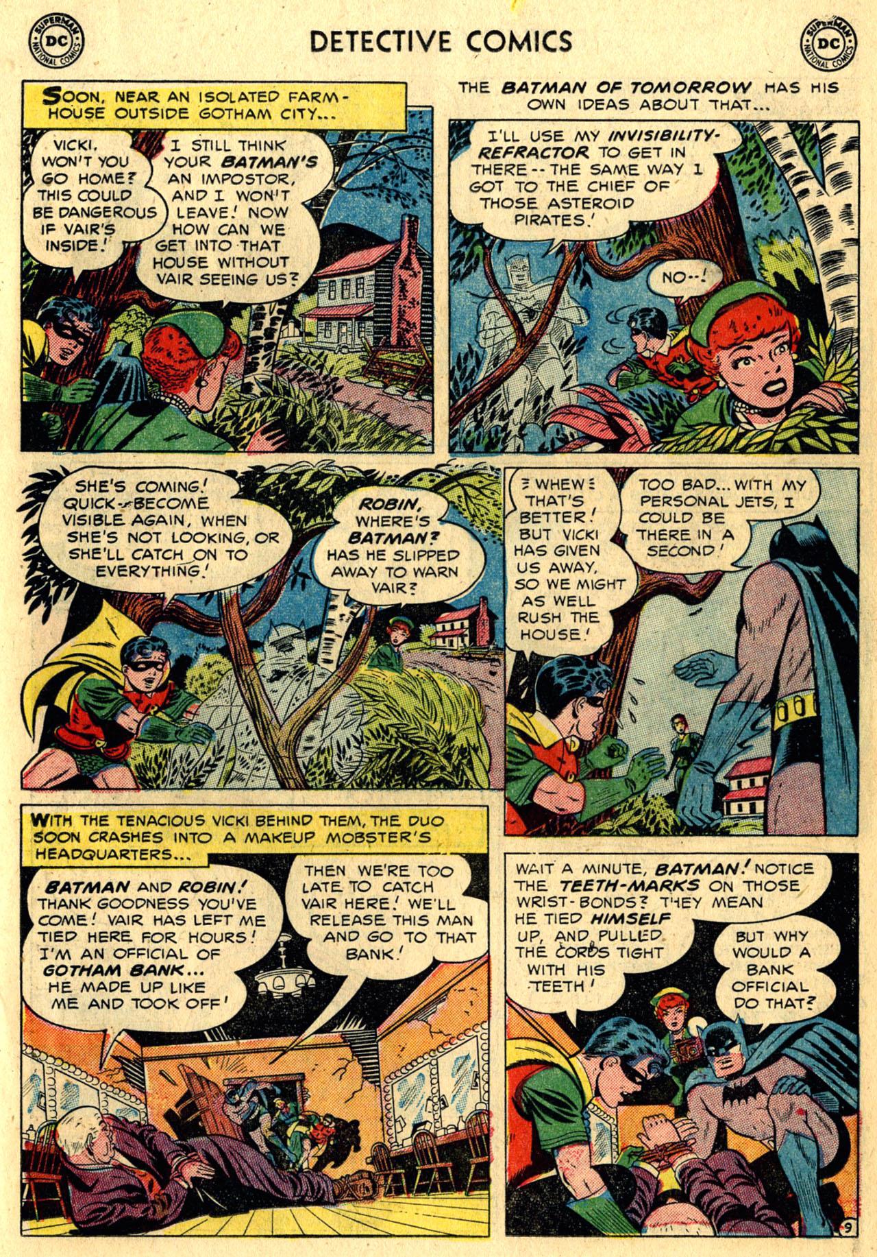 Read online Detective Comics (1937) comic -  Issue #216 - 11