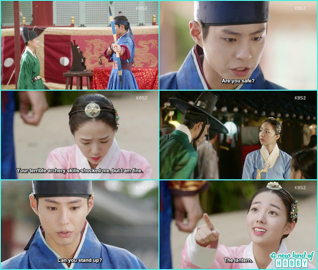 crown prince hurt second herion whileshooting the arching -  Love in The Moonlight - Episode 6 Review
