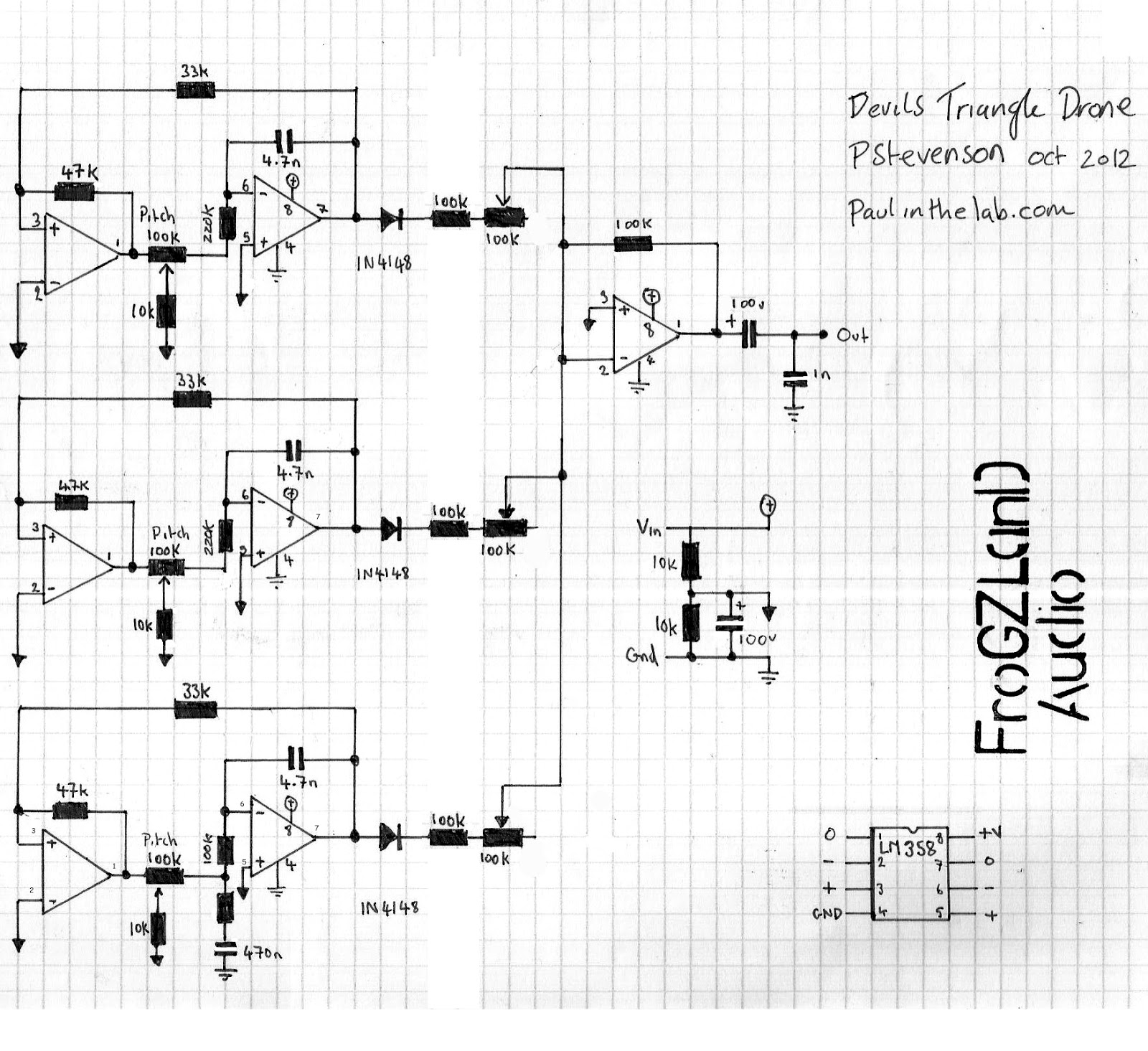DTD+schematic.bmp paul in the lab devils triangle drone synth stripboard veroboard wiring diagram for drag car at webbmarketing.co
