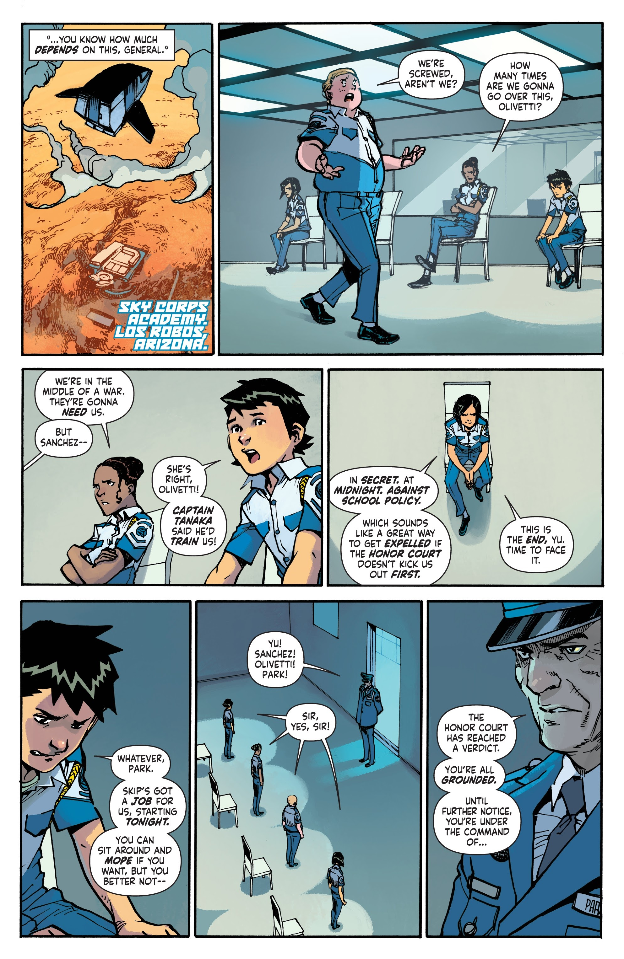 Mech Cadet Yu #_TPB_2 #15 - English 8