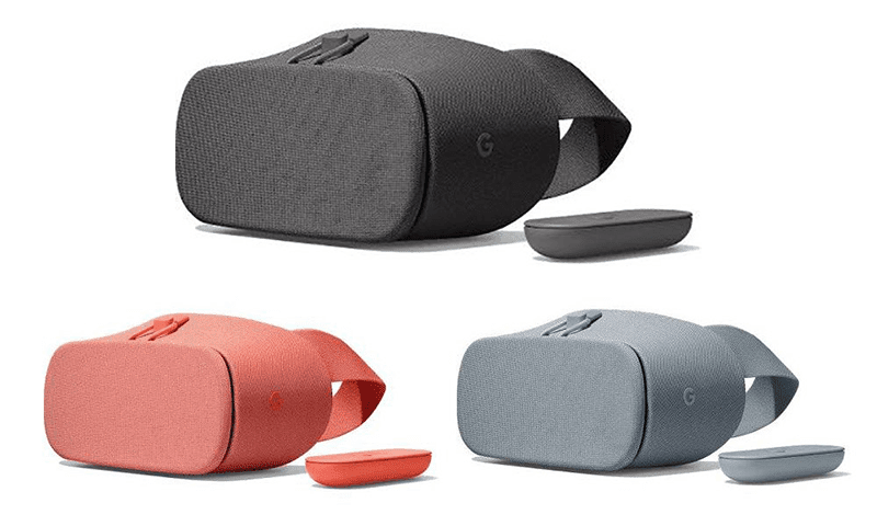 The new Google Daydream View