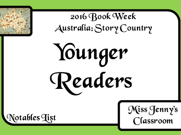 Book Week 2016: Younger Readers